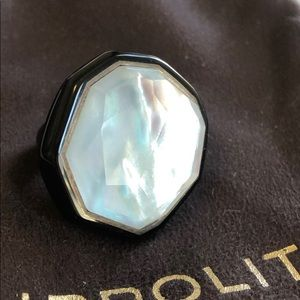 Ippolita ring, fits like a 7 or 7.5